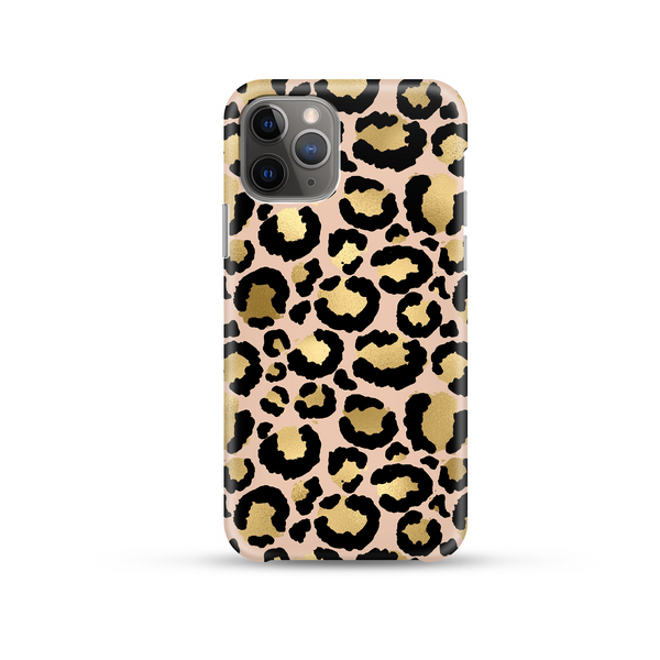 Gold Leopard Phone Case