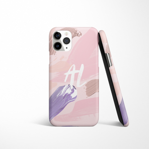 Personalised Phone Case - Lilac Brush