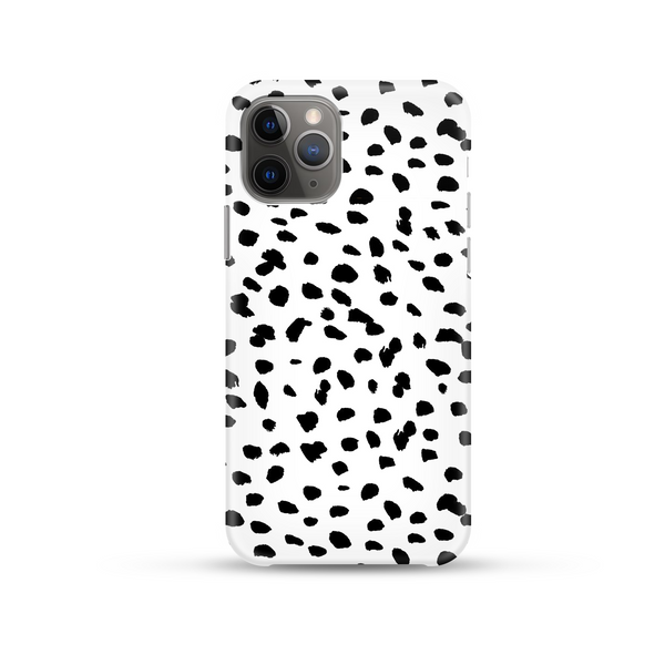 Monochrome Spots Phone Case