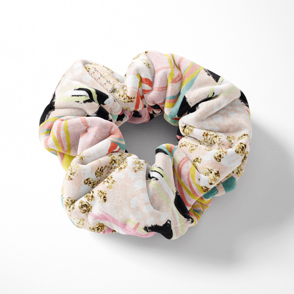 Coconut Lane's Abstract Scrunchie