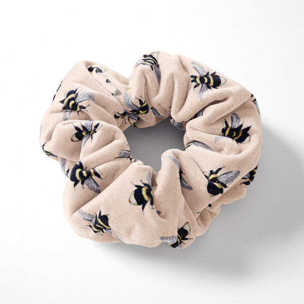 Honey Bee Scrunchie