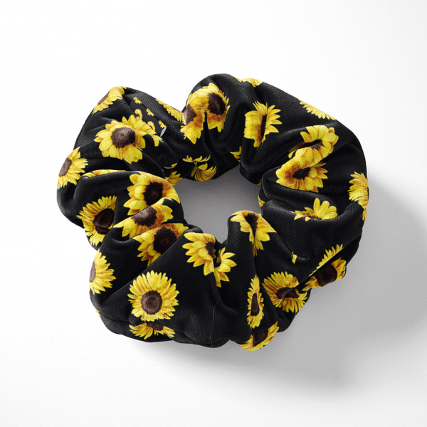 Sunflowers Scrunchie