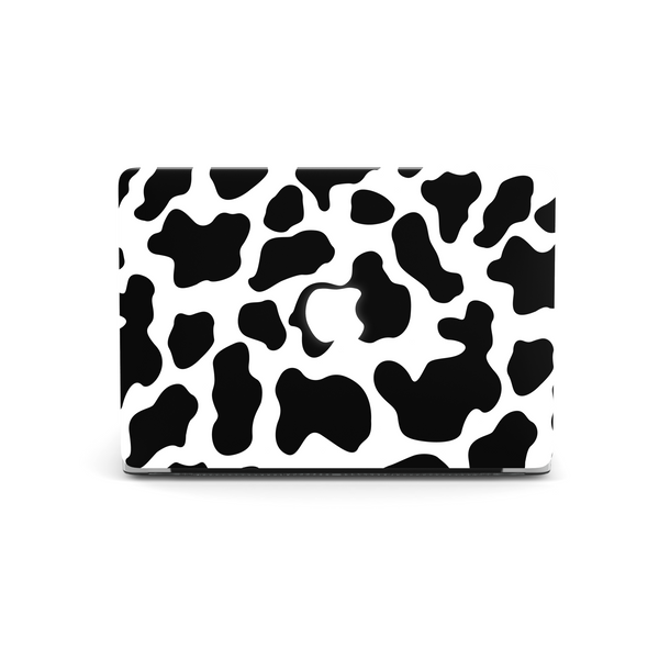 Cow Macbook Skin on white background