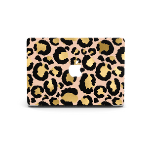 Gold Leopard Macbook Skin
