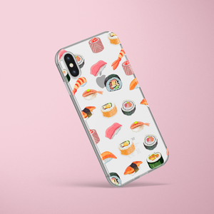 Sushi Phone Case With clear background