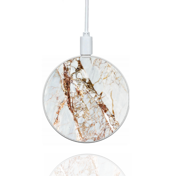 Rose Gold Marble Wireless Charger