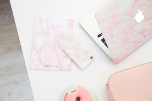 Marble Blush Phone Case