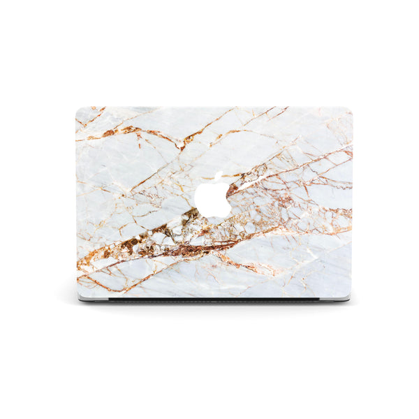 Coconut Lane's Rose Gold Marble Macbook Skin
