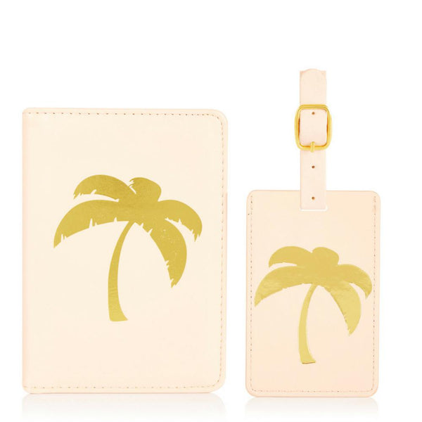 Palm Tree Travel Set