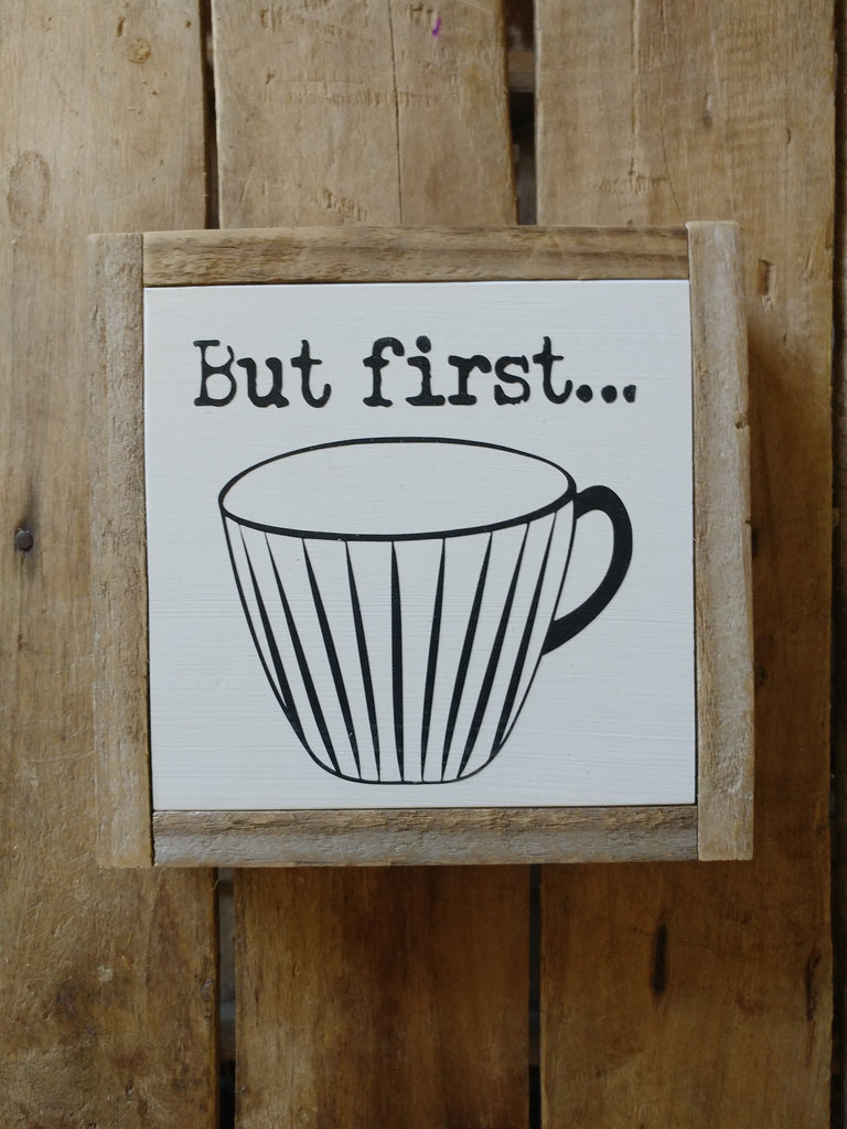 But first. . .Vintage Coffee Cup