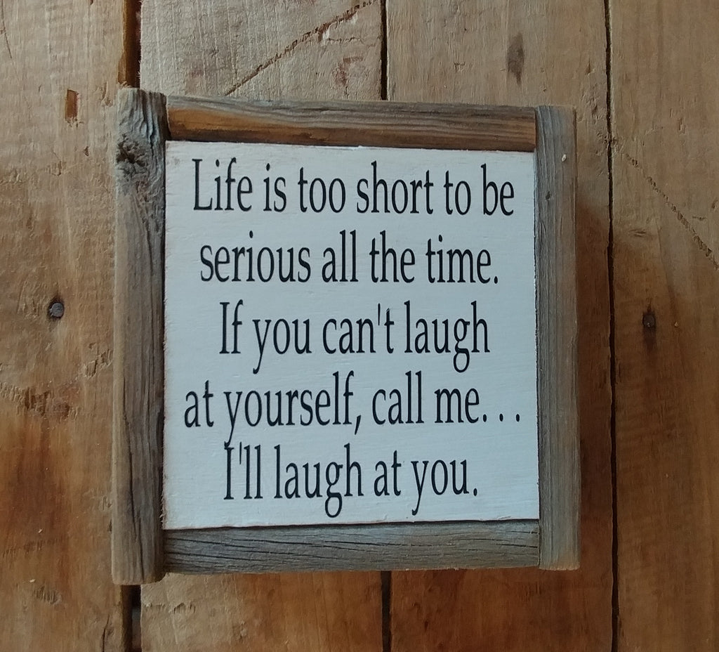 Life's too short.