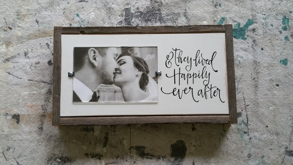 Happily ever after frame.