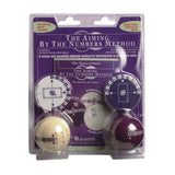 Aramith Aiming By Numbers Practice Balls - BilliardCuesOnline