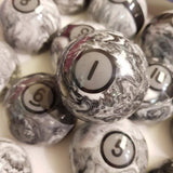 New Style Marble American Pool Balls