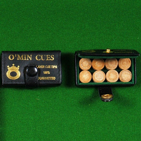 10MM OMIN MULTI-LAYER CUE TIP (8pcs/Box)