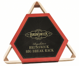 "Brunswick Big Break 9 Ball Rack For 2 1/4"" American Pool - BilliardCuesOnline"
