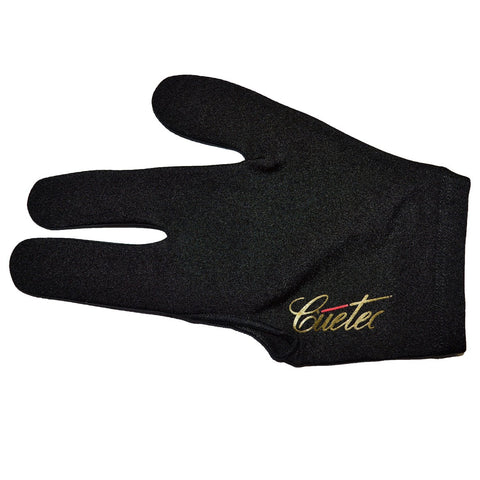 Cuetec Professional 3-Finger Bridge Hand Billiard/Pool Glove (one size fits all)