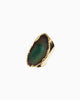 Guardian Angel Green Agate Gemstone Ring - Tiana Jewel
