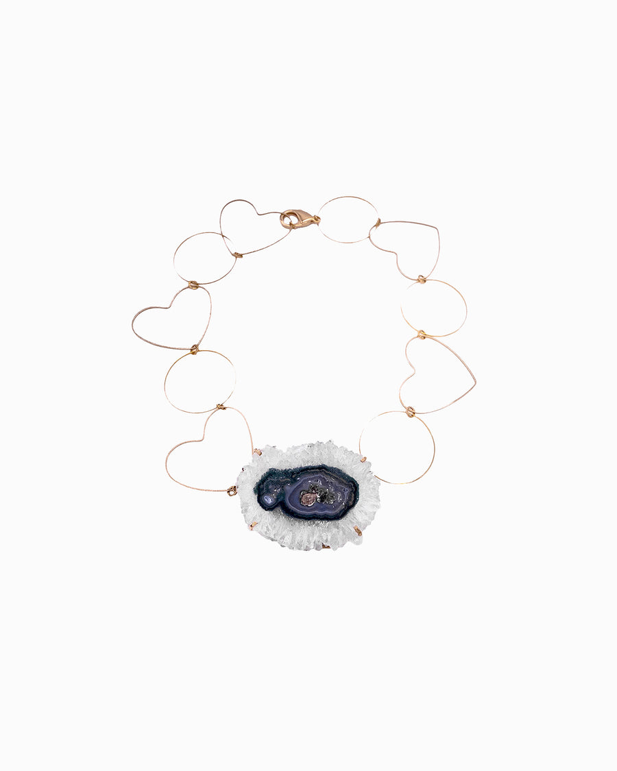 Celestial Soul Statement Snowflake Necklace - Tiana Jewel
