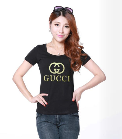 0d7fd9c2 ... GG style Short Sleeve T-Shirt for women in four sizes ...