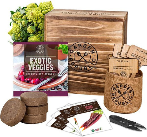Garden Republic Exotic Veggie Kit