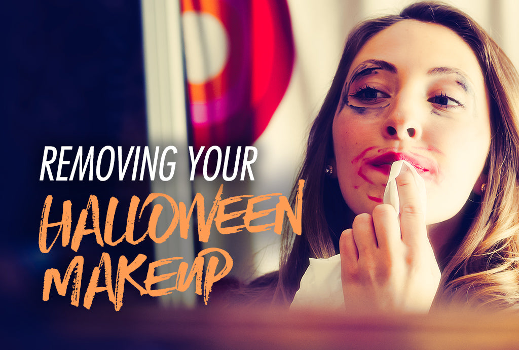 Removing your Halloween makeup doesn't have to be scary!