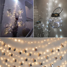 5m/16.4ft 50-LED Copper Wire String Light for wedding decoration