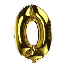 Number Thickened Helium Foil Balloons - Great For Your Wedding Table Numbers