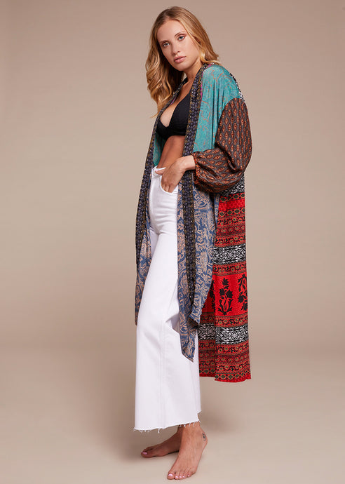 Silk Long Cardigan 3