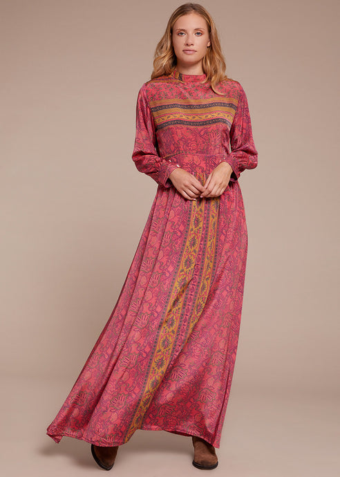 Silk Vicky Long Dress 2