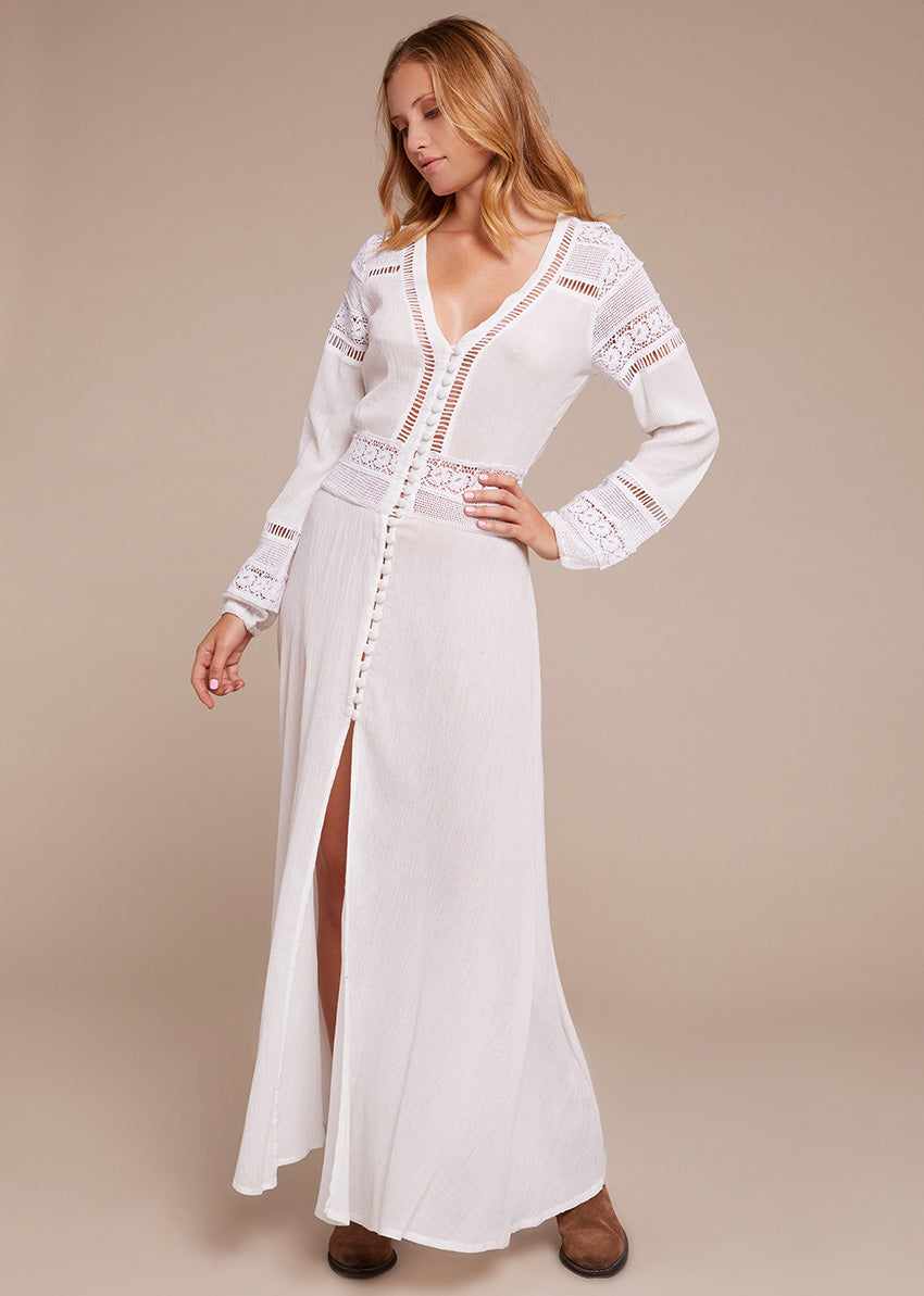 Saint Tropez White Long Dress