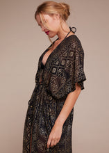Zoe Open Gold Kaftan
