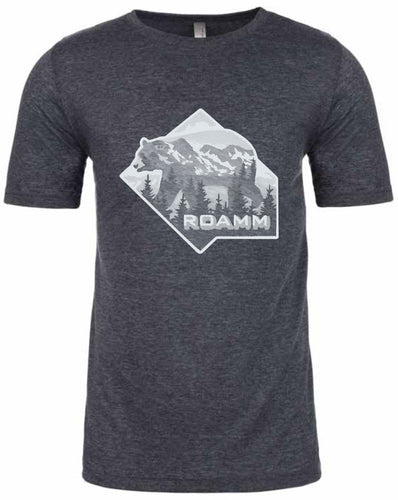 Roamm Wild - Bear T-Shirt - Antique Denim