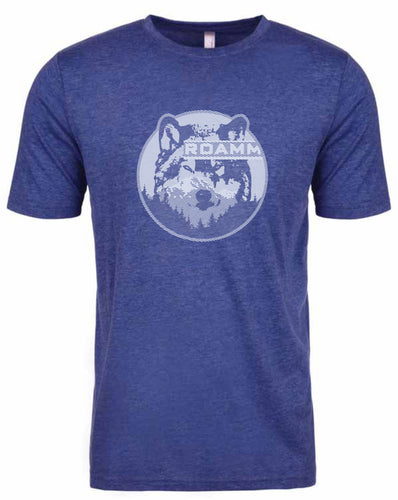 Roamm Wild - Wolf T-Shirt - Royal Blue