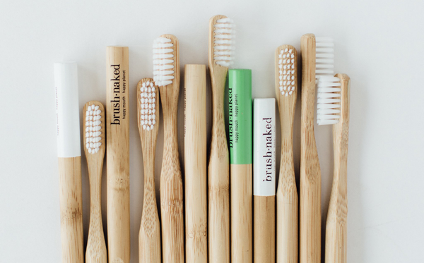 Brush Naked Bamboo Toothbrushes