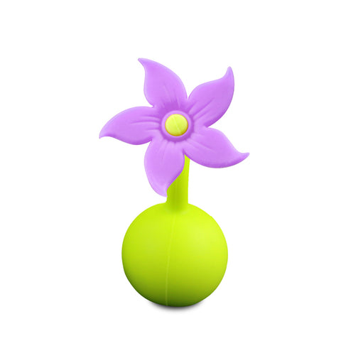 Haakaa Purple Flower breast pump stopper