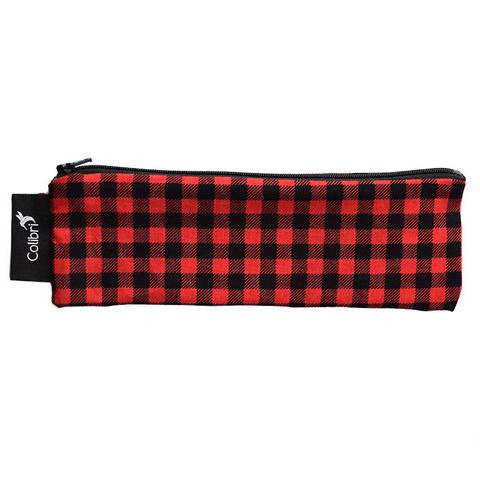 Plaid - Reusable Snack Bag - Wide