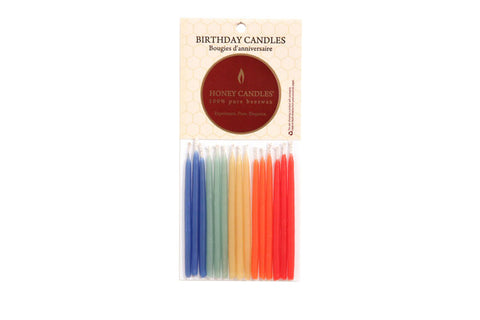 Beeswax - Birthday Candles-Royal