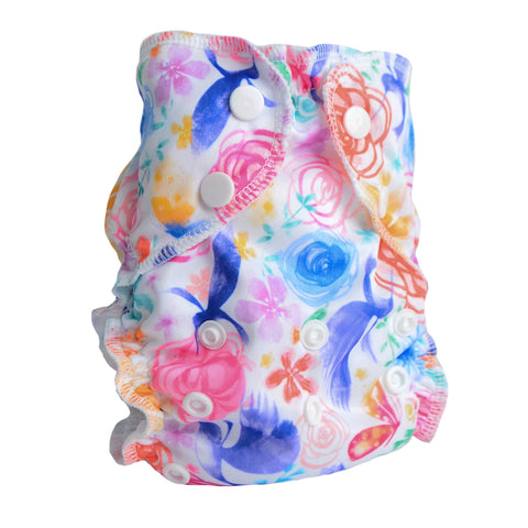 Petal Faster - One Size Diaper Cover - AppleCheeks