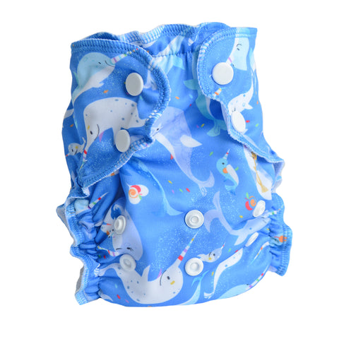 Total Gnarly - One Size Diaper Cover - AppleCheeks