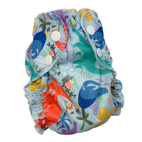You Rock - Size 2 SWIM Diaper Cover - AppleCheeks
