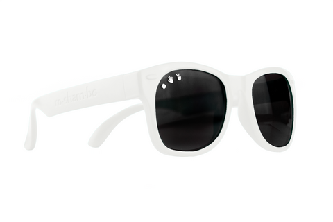 ICE ICE BABY WHITE ADULT SHADES - POLARIZED!