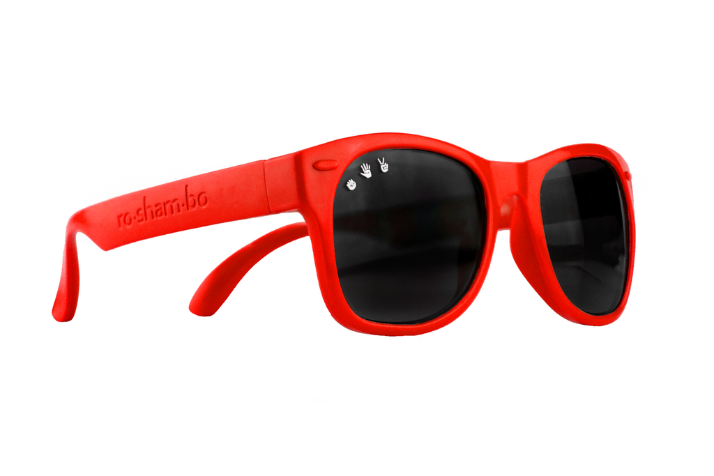 MCFLY RED TODDLER SHADES - POLARIZED!