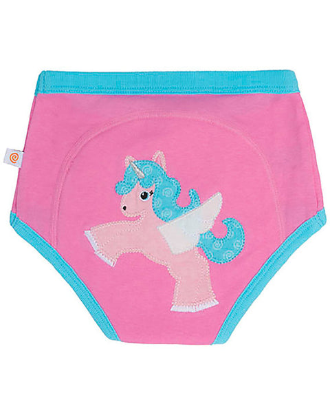 Aliie the Alicorn Organic Training Pants 3T/4T