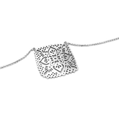 unique sterling silver ita mexican necklace