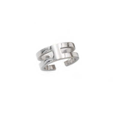 intersection collection sterln silver ring