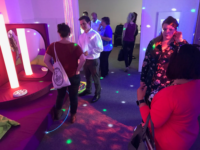 Sensorykraft host a Sensory Zone at OTAC Midlands