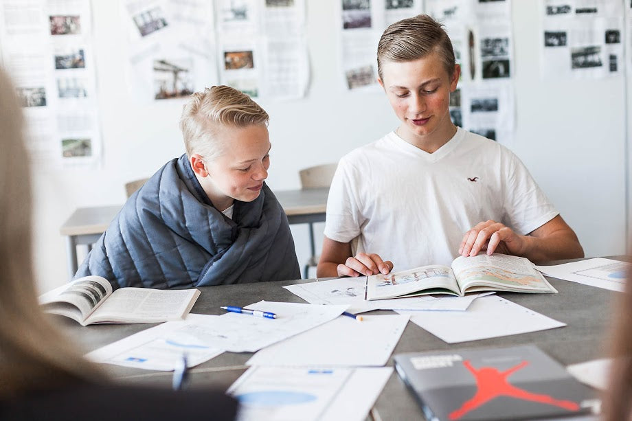SOMNA CASE STUDY SANNARP HIGH SCHOOL, HALMSTAD, SWEDEN: Our weighted products increased the students' ability to concentrate