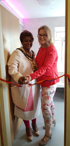The Firs Respite Centre Sensorykraft Kingkraft sensory bathroom opening