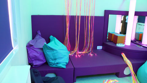 Umbrella charity sensory room Sensorykraft